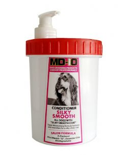 MD10 Conditioner Silky Smooth 1,000ml (Approx 32 Litre Diluted) Tibean Papillon Shih Tzu Yorkshire Terrier Cavalier English Cocker Spaniel Red Setter